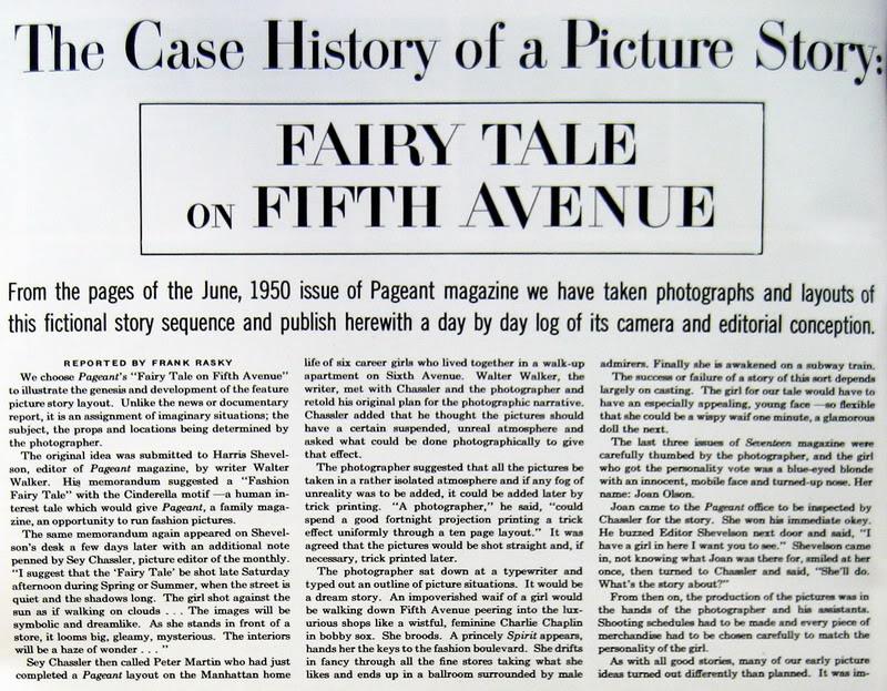 Joan Olson ~ Fairy Tale on 5th Avenue 1950 Blog_JoanO_1950_Summer_PhotoWork_10_FairyTaleA