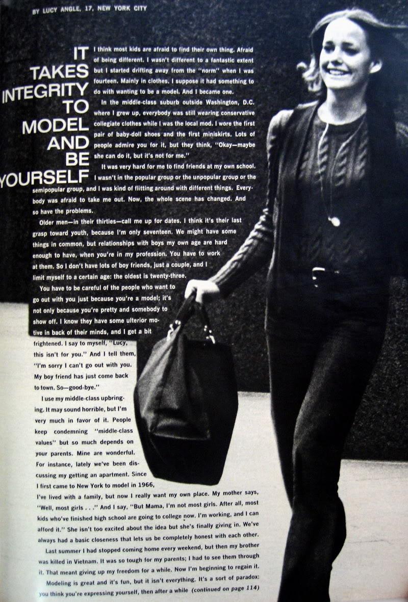 Lucy Angle Interview ~ Seventeen 1969 Blog_LucyA_1969_Jan_17_Interview1