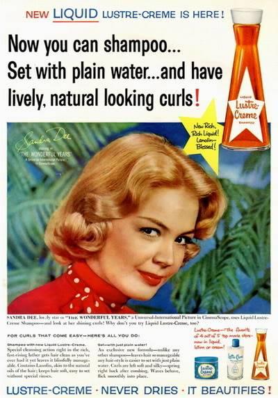 NEW Sandra Dee Photos ~ 1955-1959 Blog_Lustre_Creme_1959_Sandra_Dee