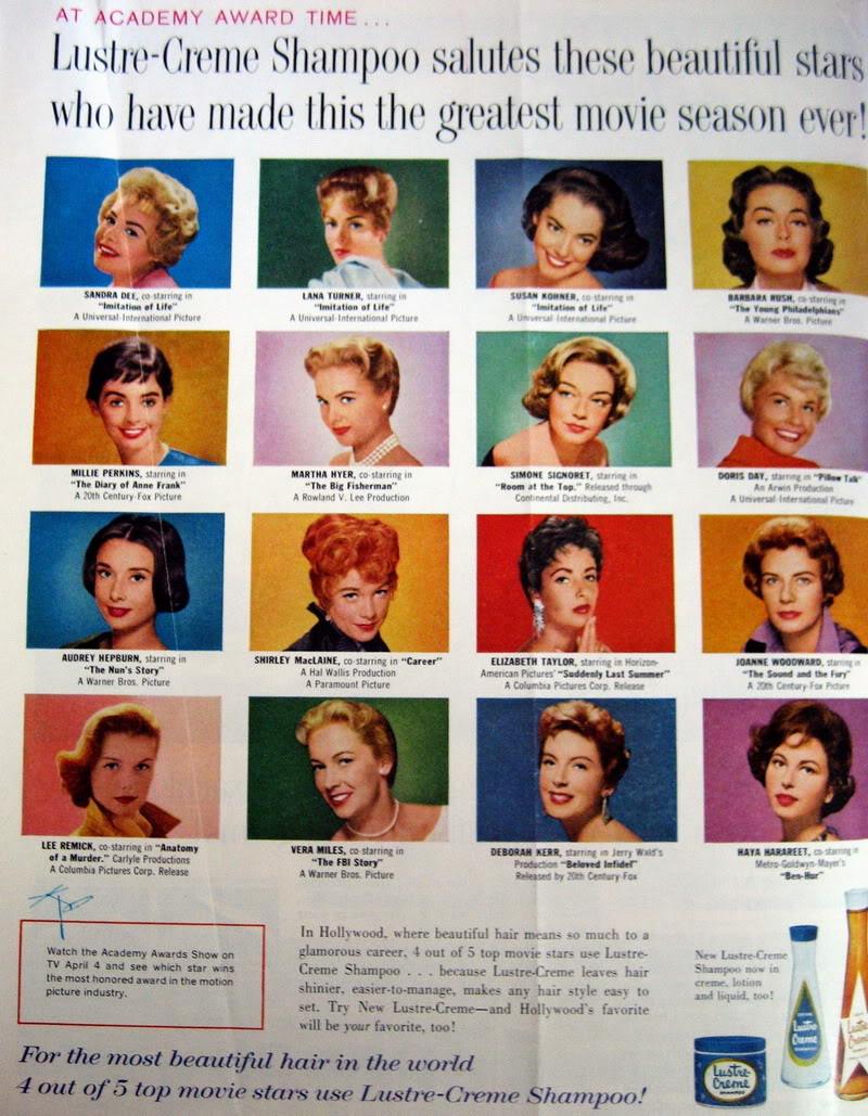 FORTIES/FIFTIES SUPER MODELS - Click Here Blog_Lustre_Creme_1960_Mar_LHJ_Acad