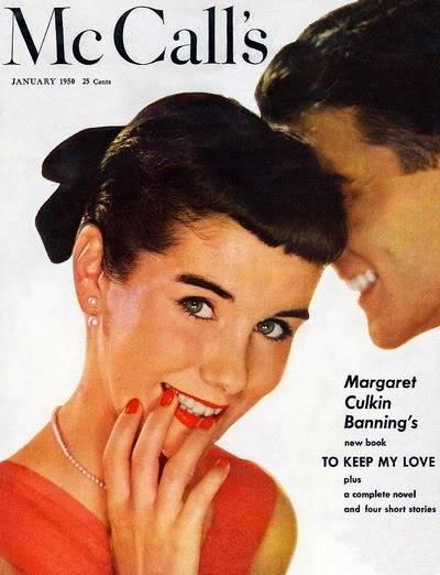 """New Album in """"Top 50's Models"""": Maggie McNamara Blog_MaggieMcNamara_1950_Jan_McCall"""