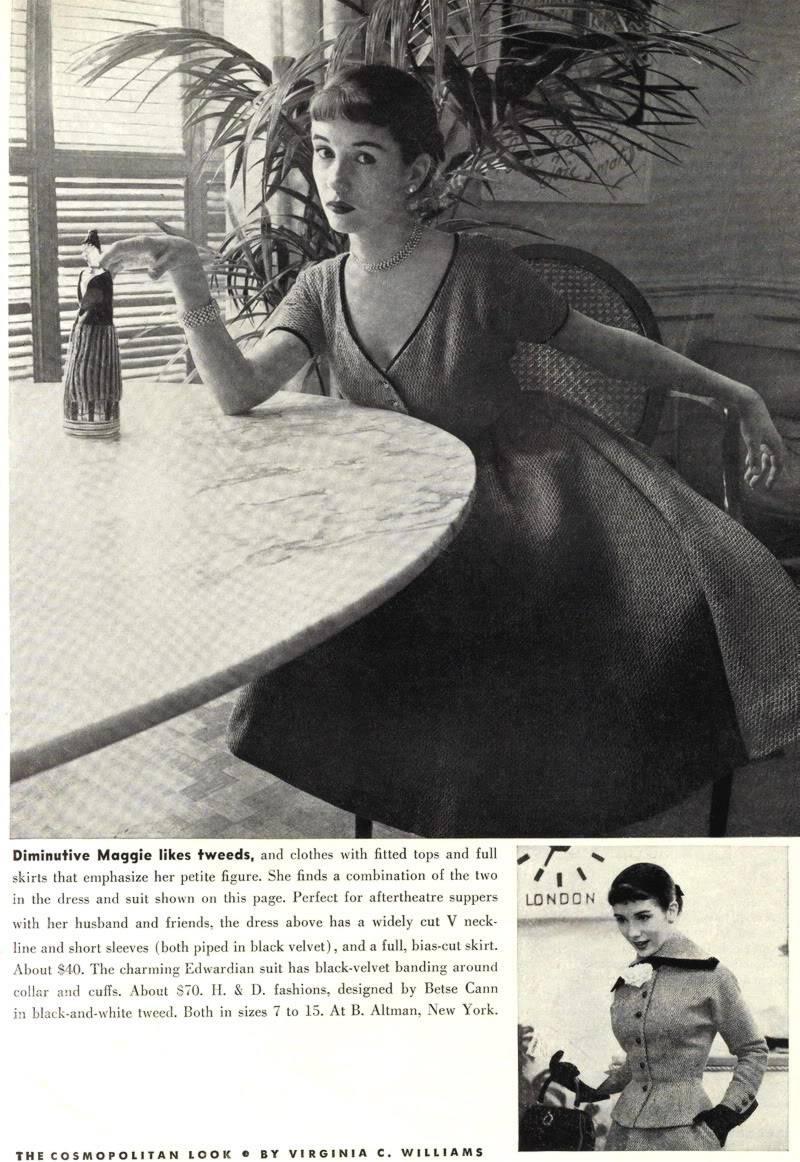 "New Album in ""Top 50's Models"": Maggie McNamara Blog_MaggieMcNamara_1952_Sept_Co-1"