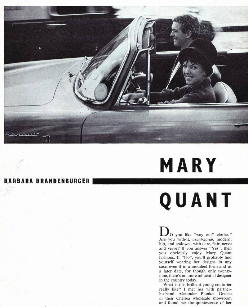 Mary Quant 1963 ~ Rare British Teen Magazine Blog_MaryQuant_1963_Aug_Elizabet-1