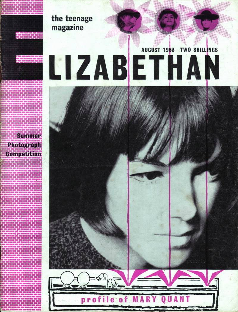 Mary Quant 1963 ~ Rare British Teen Magazine Blog_MaryQuant_1963_Aug_Elizabethan