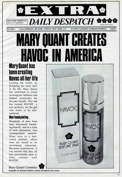 NEW Mary Quant Cosmetics & Perfumes Ads 1970s Blog_MaryQuant_1974_Oct_Glamour_Hav
