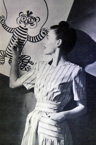 NEW Pat Geoghegan Portfolio Album Blog_PatG_1945_Apr_17_TigerStripes_JamesAbbeJr