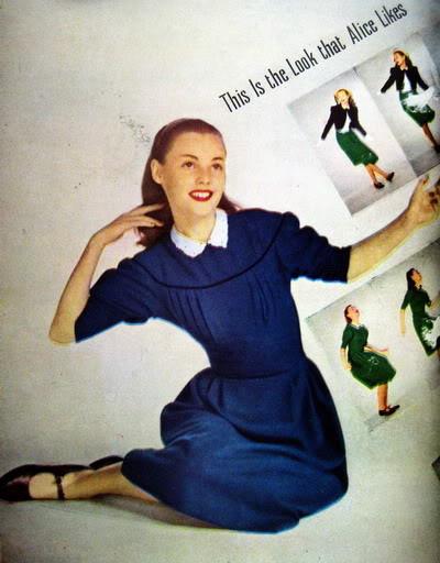 Pat Geoghegan ~ Alice: Grown-up in a New Wonderland 1947 Blog_PatG_1947_Feb_JrBazaar_72_Alice_RAvedon