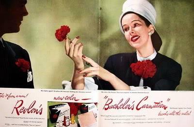 NEW Revlon Ads ~ 1940s Blog_Revlon_1946_Bachelors_Carnatio
