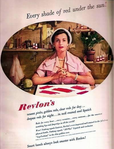 NEW Revlon Ads ~ 1940s Blog_Revlon_1949_Every_Shade_Red