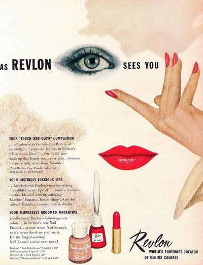 NEW Revlon Ads ~ 1950s Blog_Revlon_1952_Mary_Jane_Russe-1