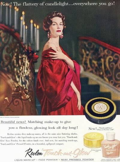 NEW Revlon Ads ~ 1950s Blog_Revlon_1957_Joanna_McCormick_T