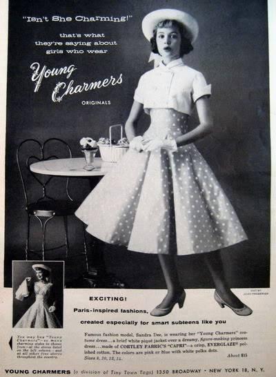 NEW Sandra Dee Photos ~ 1955-1959 Blog_SandraD_1956_May_AmGirl_Young_