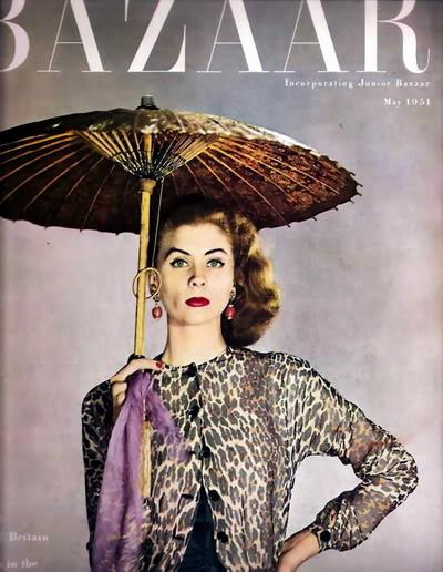 SIXTIES/SEVENTIES SUPER MODELS Blog_SuzyP_1951_May_Bazaar_Cover_LD