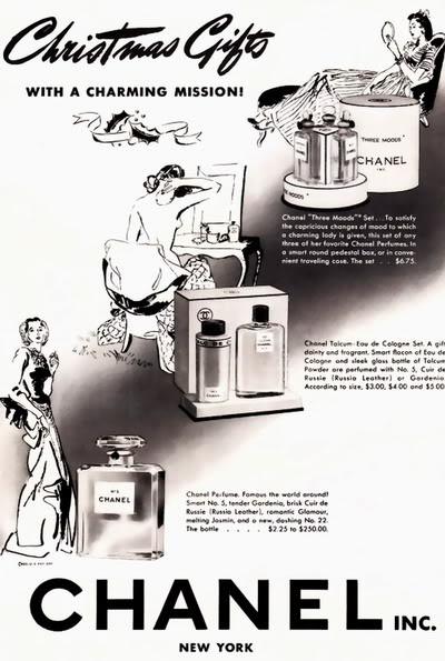 Chanel Christmas Ads ~ 1939-1969 Blog_Xmas_Chanel_1939_Xmas