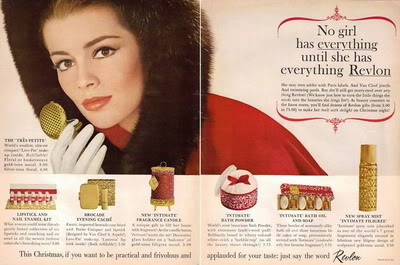 Cosmetics Christmas Ads ~ 1943-1963 Blog_Xmas_Revlon_1963_Babette