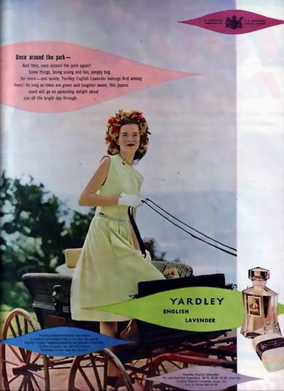 SIXTIES/SEVENTIES SUPER MODELS Blog_Yardley_1946_EngLav_Carriage