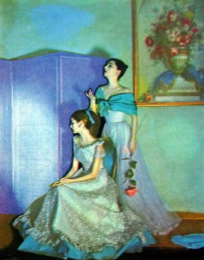 "Carmen Dell'Orefice ~ ""Summer Beauty"" 1946 CarmenDO_1946_July_Vogue_68_RuthGor"