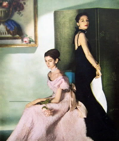"Carmen Dell'Orefice ~ ""Summer Beauty"" 1946 CarmenDO_1946_July_Vogue_69_RuthGor"