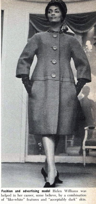 New Album in Top Fifties Models: Helen Williams Helen_Williams_1975_Ebony_Magazine