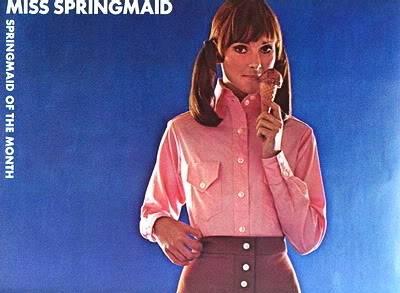 New Albums in Bonnie's Sixties Models & Ads: 2 Karens KarenWeiler_1968_Springmaid