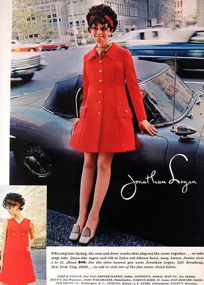 New Albums in Bonnie's Sixties Models & Ads: 2 Karens KarenWelsh_1969_JonathanLogan