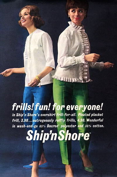 New Albums in Bonnie's Top 50's Models & Sixties Models & Ads: Ship'n Shore ShipNSHore_1962_ElinorR_CaroleF