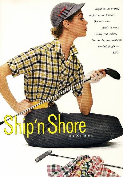 New Albums in Bonnie's Top 50's Models & Sixties Models & Ads: Ship'n Shore ShipNShore_1952_JeanP