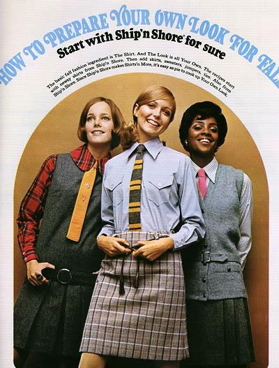New Albums in Bonnie's Top 50's Models & Sixties Models & Ads: Ship'n Shore ShipNShore_1968_LucyA_SusanB_UM