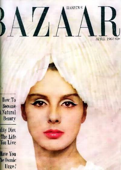 Tilly Tizzani Portfolio Album TillyT_1962_Apr_Bazaar_Cover