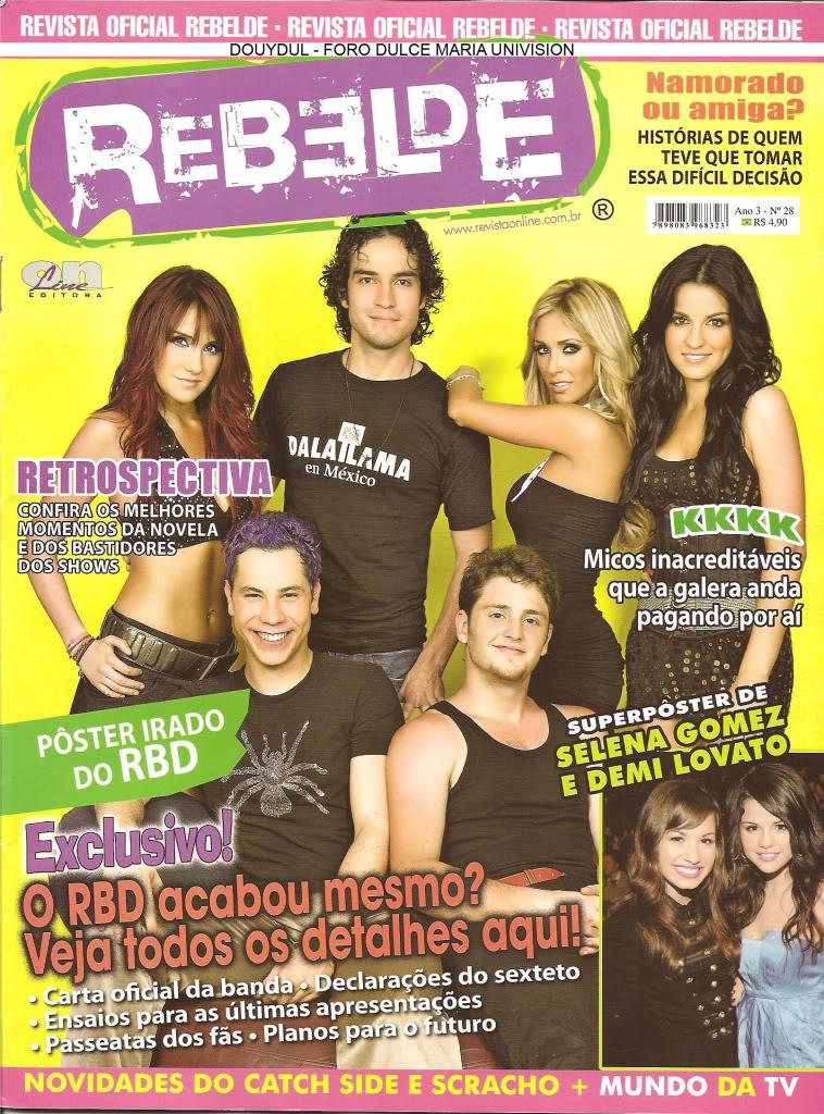 Scans Revista Rebelde #28 - Brasil 01