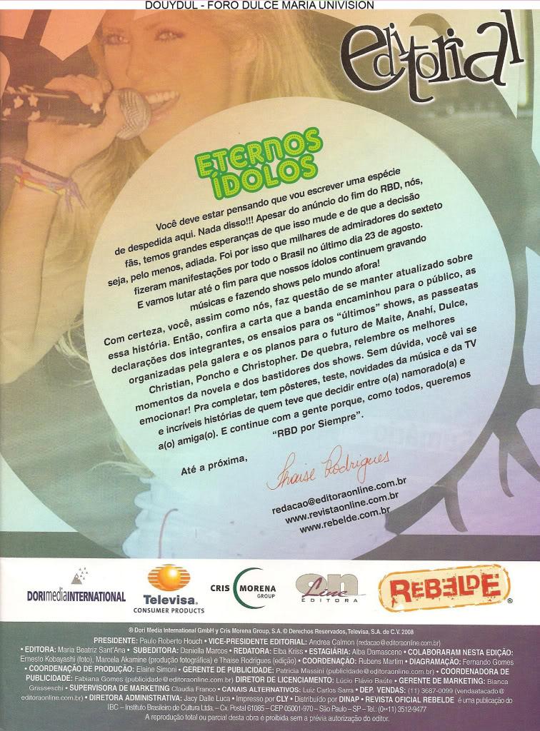 Scans Revista Rebelde #28 - Brasil 02