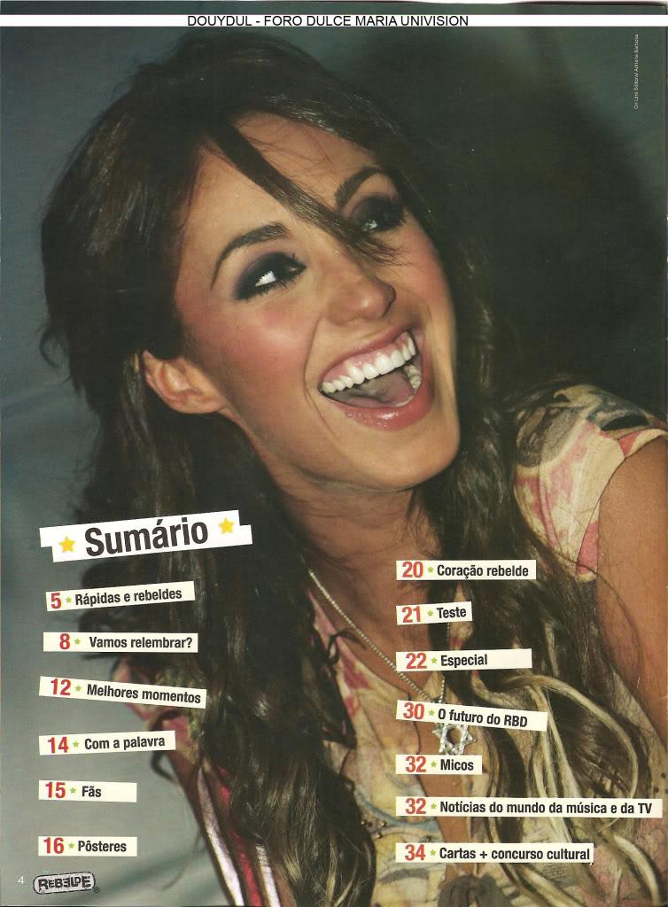 Scans Revista Rebelde #28 - Brasil 03