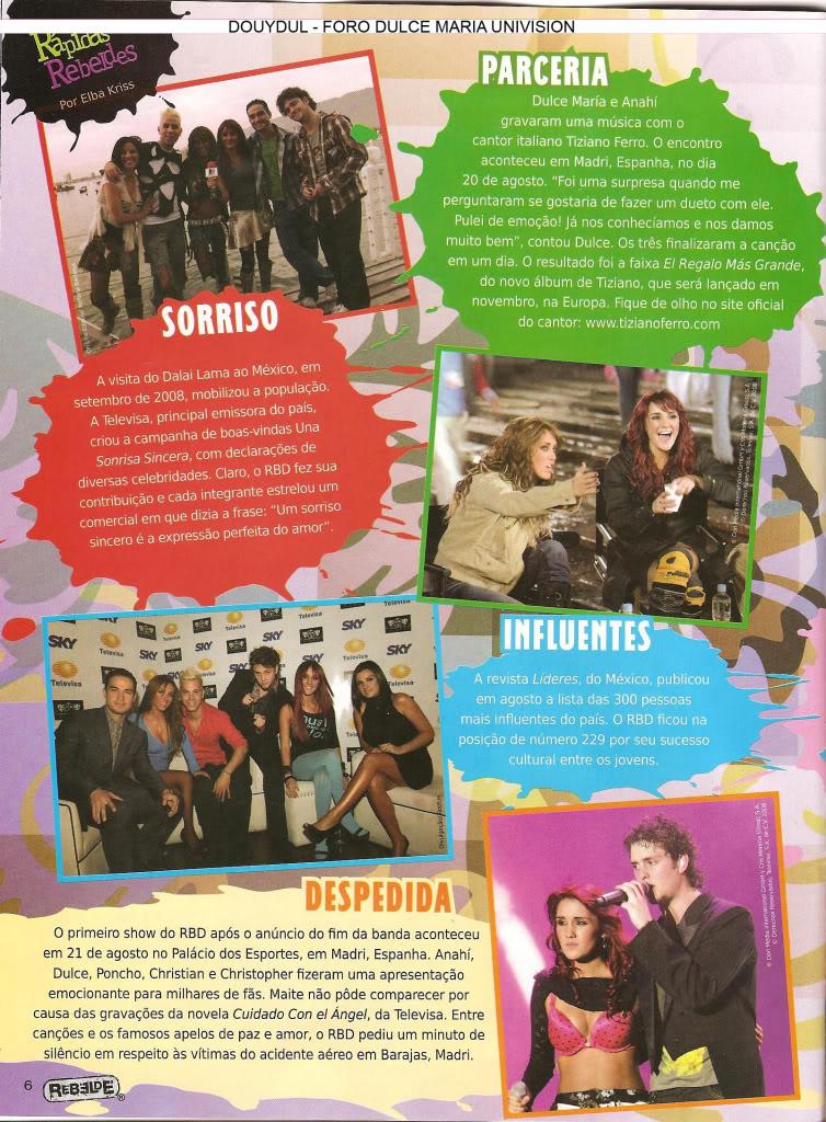Scans Revista Rebelde #28 - Brasil 05