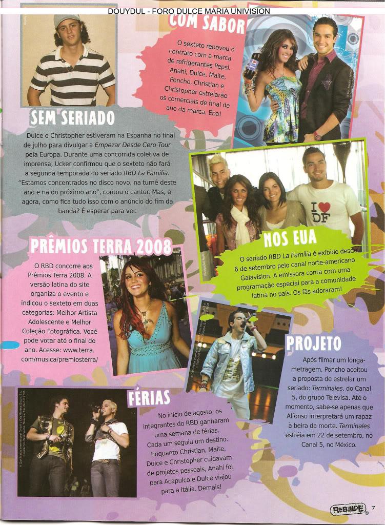 Scans Revista Rebelde #28 - Brasil 06