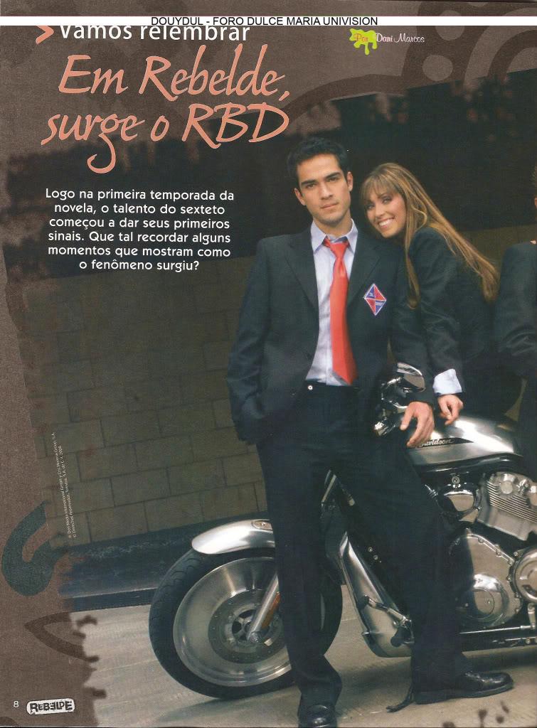 Scans Revista Rebelde #28 - Brasil 07
