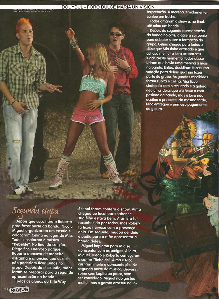 Scans Revista Rebelde #28 - Brasil 09