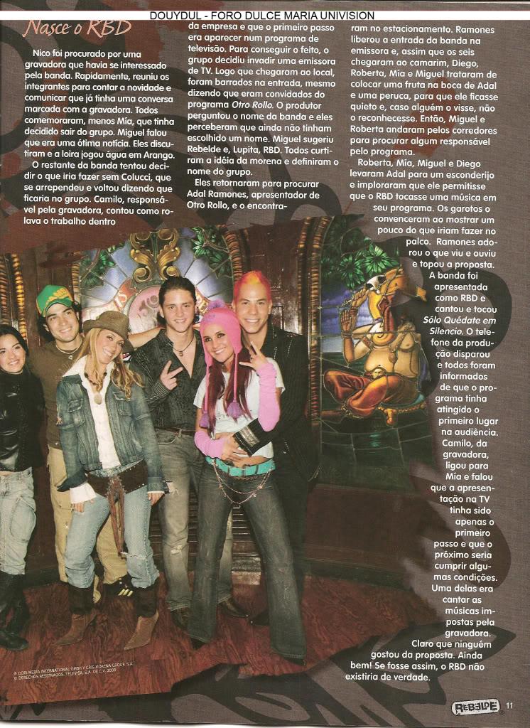 Scans Revista Rebelde #28 - Brasil 10