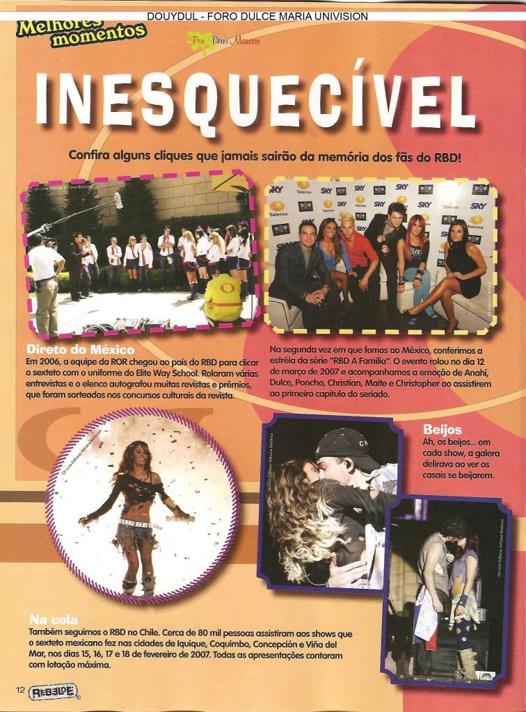 Scans Revista Rebelde #28 - Brasil 11