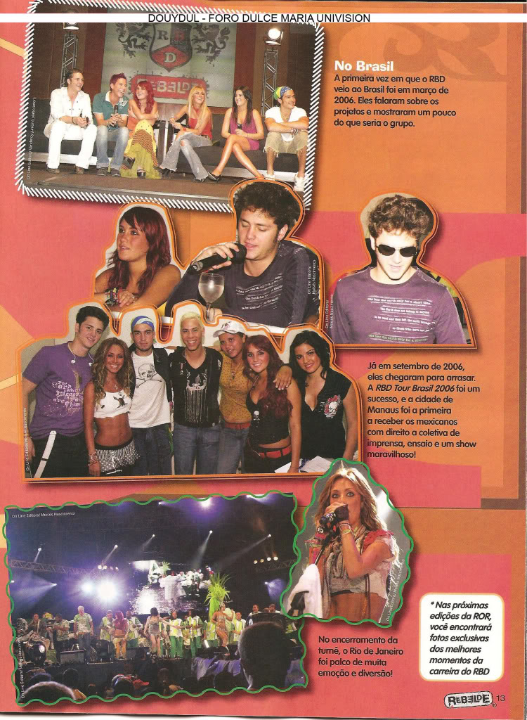 Scans Revista Rebelde #28 - Brasil 12