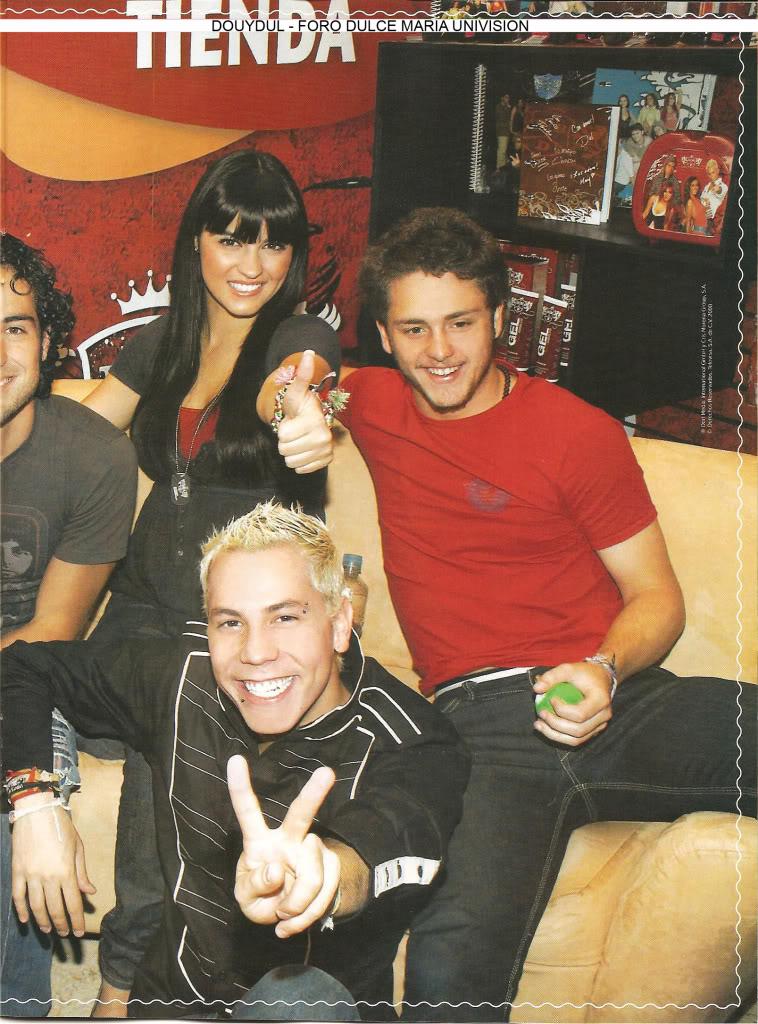 Scans Revista Rebelde #28 - Brasil 16