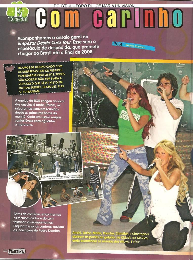 Scans Revista Rebelde #28 - Brasil 17