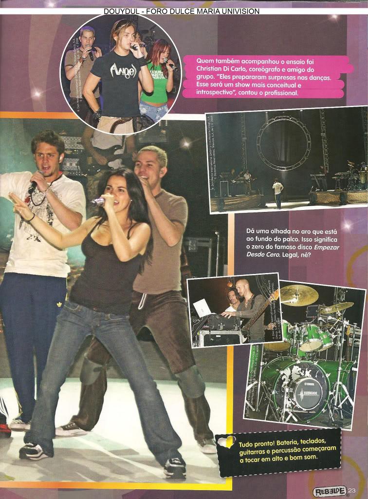 Scans Revista Rebelde #28 - Brasil 18