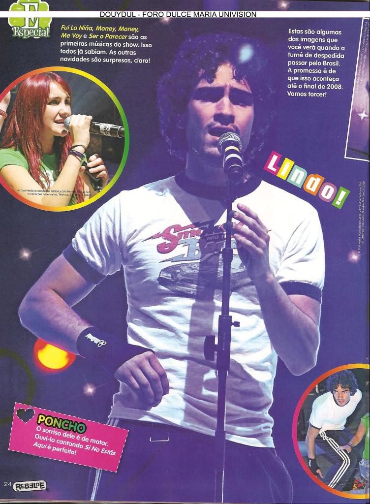 Scans Revista Rebelde #28 - Brasil 19