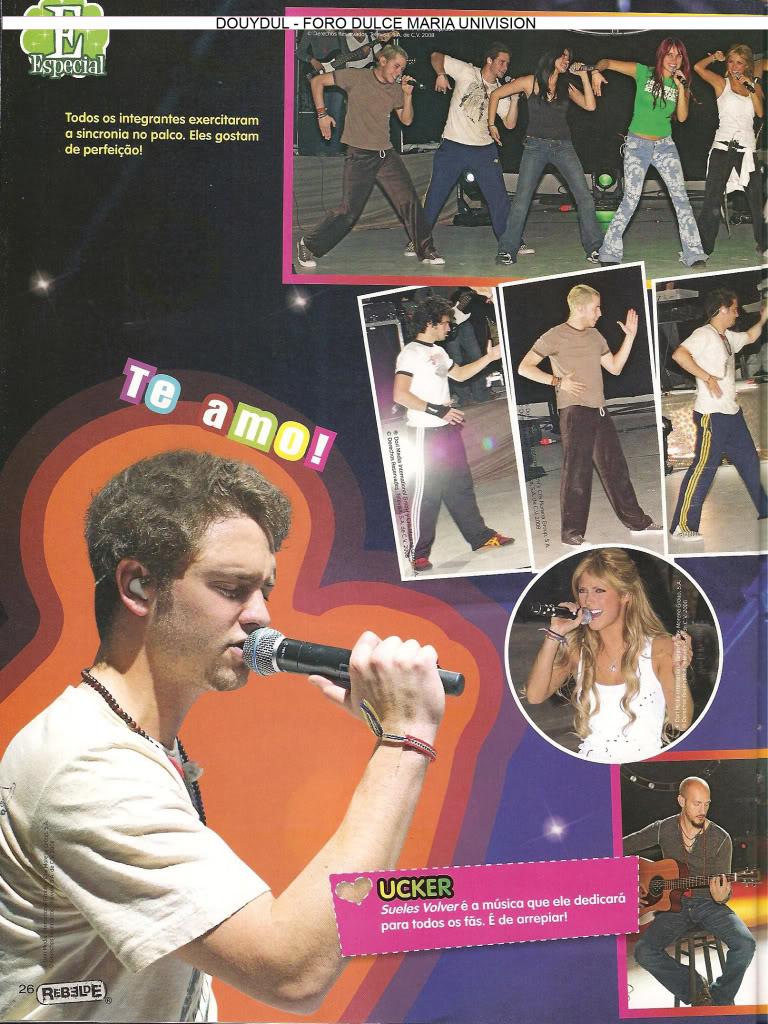 Scans Revista Rebelde #28 - Brasil 21