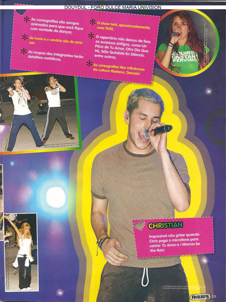 Scans Revista Rebelde #28 - Brasil 24