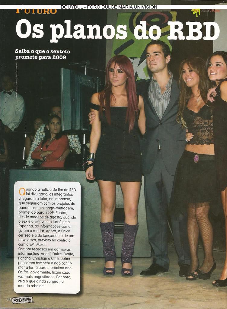 Scans Revista Rebelde #28 - Brasil 25