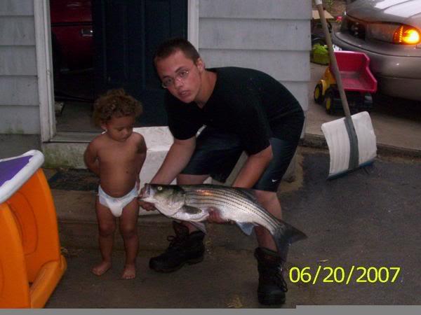 Fishing Anyone? Striper