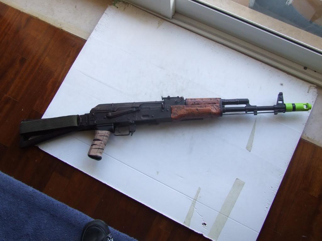 AKS- 74 bem usada.... DSCF4773