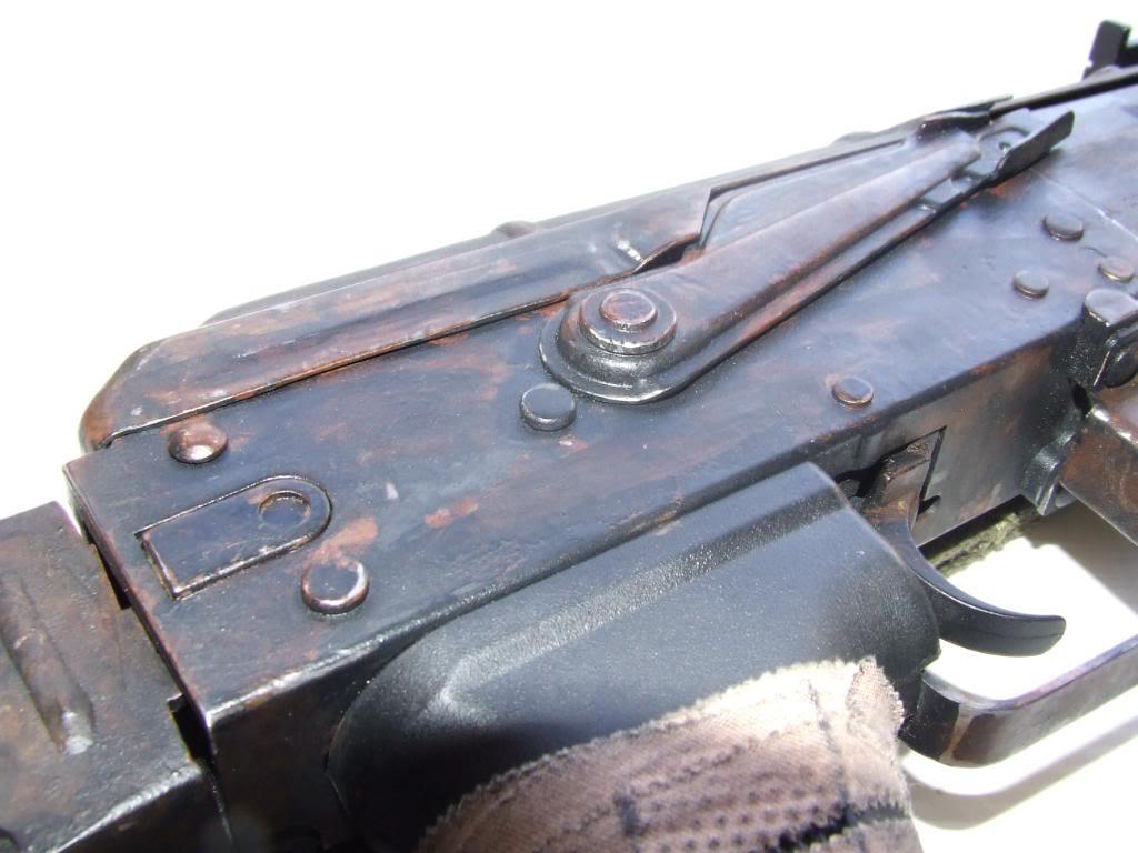 AKS- 74 bem usada.... DSCF4775