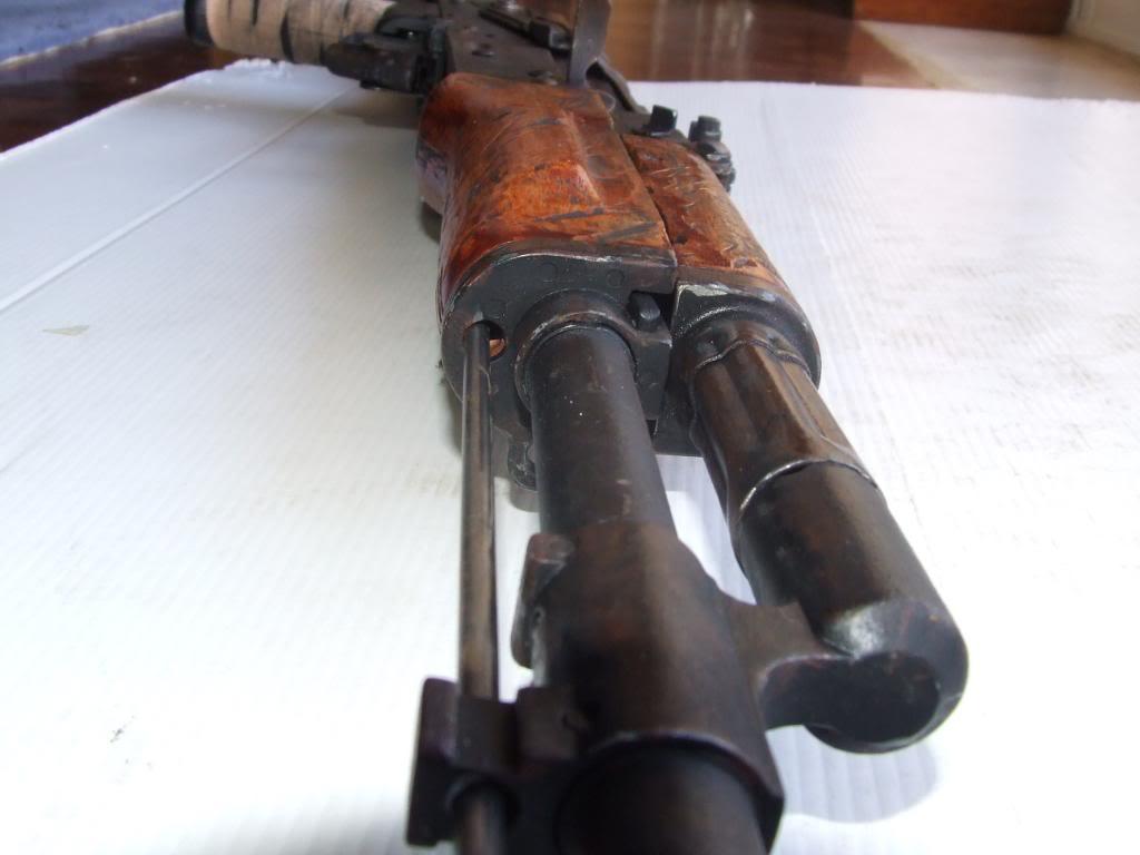 AKS- 74 bem usada.... DSCF4777